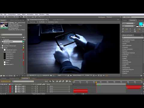 IRON MAN PDA INTERFACE   AFTER EFFECTS TUTORIAL