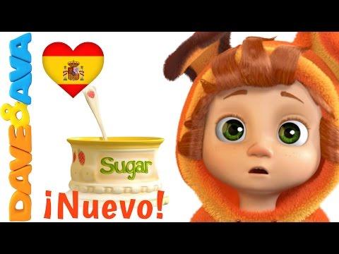 🔥 Johny Johny Sí papa   Canciones Infantiles y Canciones para bebés de Dave y Ava 🔥
