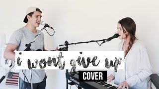 I WON'T GIVE UP - JASON MRAZ (cover by Gabriel Conte and Jess Bauer)