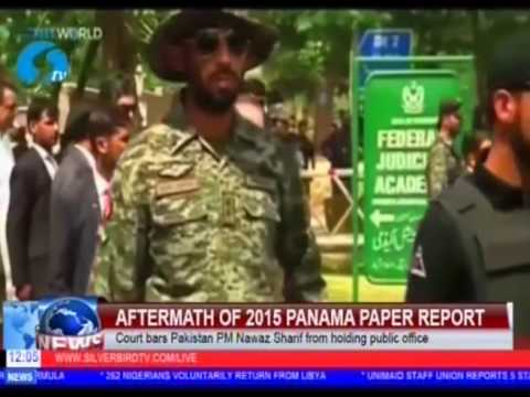 Aftermath Of 2015 Panama Paper Report: Court Bars Pakistan PM Nawaz Sharif From Public Office