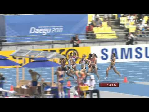 WC 2011 - W800m Heat 5 - Hamblin