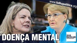Senadora Ana Amélia termina de 'enterrar' o PT ao expor 'doença mental' que está atingindo o partido