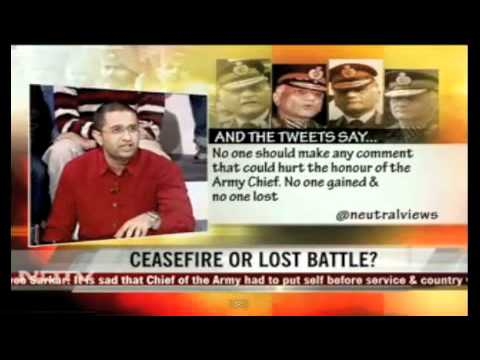 On NDTV - How we select our army chief