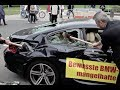 Protestaktion IAA Frankfurt 2013 : BMW M6 demoliert! Vol1