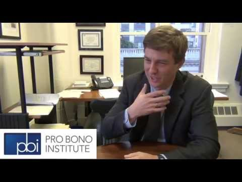 Why Do Pro Bono? Bill Lienhard, Volunteers of Legal Service