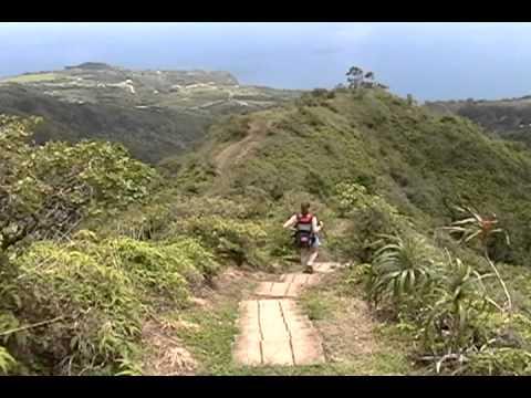 Ridge Hike Maui Hiking Down Waihee Ridge Trail