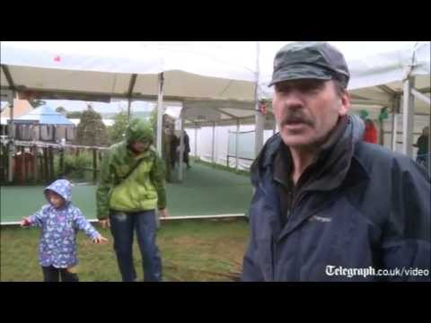 Wet weather doesn't dampen spirits at Hay Festival 2012