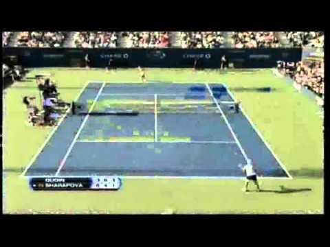 Maria Sharapova vs Melanie Oudin 2009 US Open Highlights