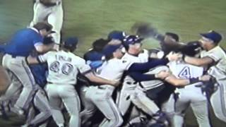 Mike Timlin Gets Last Out 1992 World Series