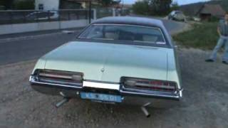 1972 Buick Centurion 455; walk around, short acceleration