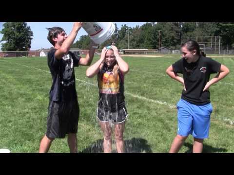 Floyd County High School Chem students do the Ice Bucket Challenge