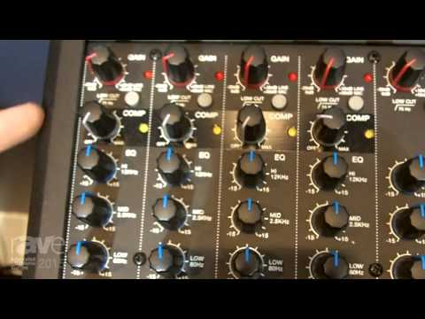 ISE 2015: Denon Professional Exhibits DN-412X and DN-408X Audio Mixers