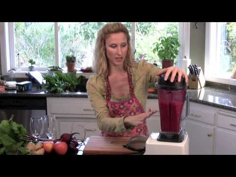 Raw Food Recipe GInger Beet Juice - www.TheDeliciousRevolution.com