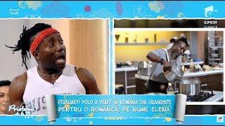 """Din bucătăria """"Chef la Cuție"""", Fernando Polo a ajuns la """"Prietenii de la 11"""", ca profesor"""