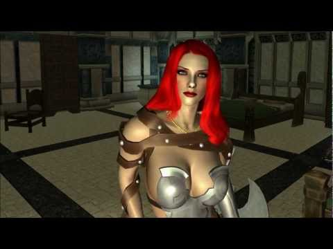 The Elder Scrolls V: Skyrim - Reina Armor For CBBE V3 Mod