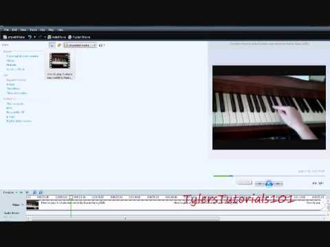 how to mute sound in windows movie maker youtube