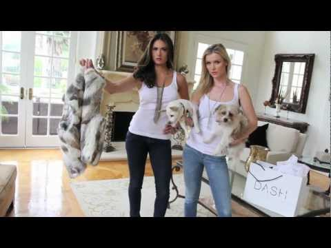 Joanna Krupa and Katie Cleary FIGHT AGAINST FUR      [photographed by Jeff Linett]