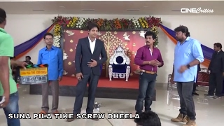 Babushan - Suna Pila Tike Screw Dheela Shooting Set Video