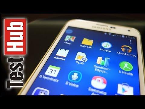 Samsung Galaxy S5 - Test - Recenzja - Prezentacja PL