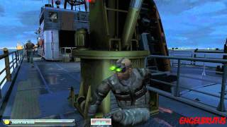 Splinter Cell Double Agent PC Gameplay Bonus Mission   NYC  Coast Guard Boat (RES.1920X1200)