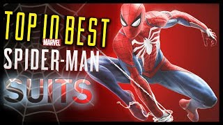 Top 10 BEST Suits in Spider-Man PS4