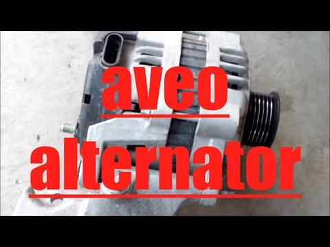 How to replace alternator generator 2007 Chevy Aveo