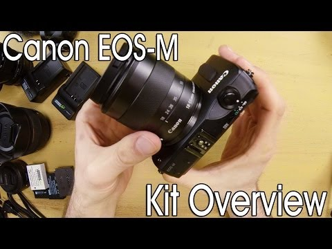 Canon EOS-M in-depth film kit overview - DSLR FILM NOOB