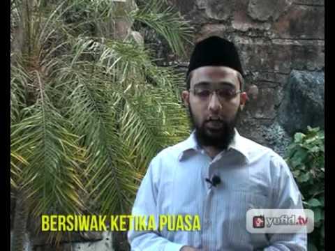 Ceramah Islam Dan Fatwa Ramadhan: Hukum Bersiwak Dan Memakai Parfum Ketika Puasa - Bung Rayyan