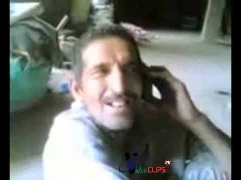 Pakistani Baba Caling To Girl  Funny Clips Punjabi 2013 video