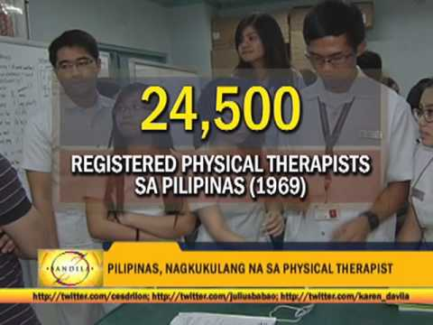Philippines lacks physical therapists