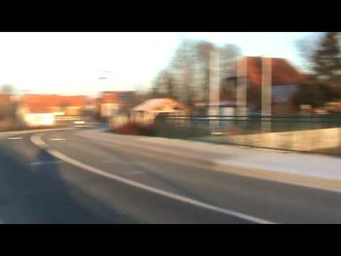 BR 612 rushes through Darlingerode, Germany