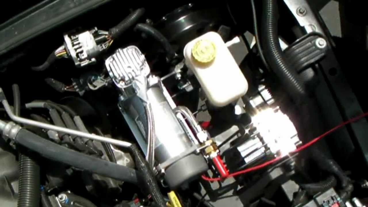 Jeep Jk Engine Bay Compressor Install Video Youtube