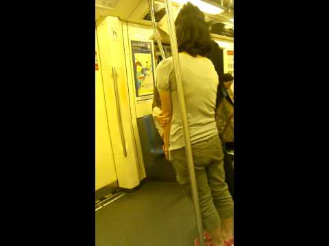 Travel in Metro Train Bangkok Thailand