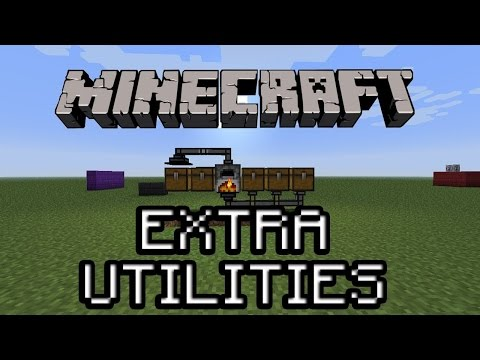 Extra utilities Tuto Fr (Mc 1.7.10)