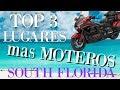 TOP 3 LUGARES PARA IR EN MOTO MIAMI FL