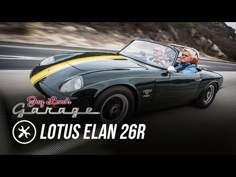 Restoration Finished: 1966 Lotus Elan 26R - Jay Leno's Garage