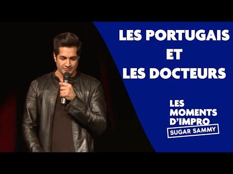 Humour: Sugar Sammy, les Portugais et les docteurs