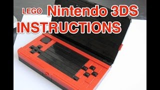 Lego Nintendo 3DS Instructions