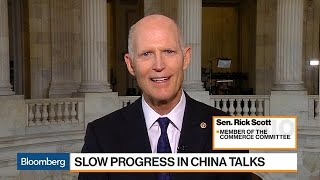 Sen. Rick Scott Doesn't Expect a Trade Deal With China to Happen