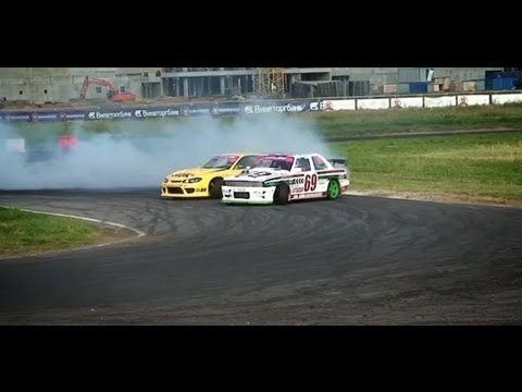 TOP4 Гоча VS Эглите AutoExotica АвтоЭкзотика 2012 Russian Drift Series RDS