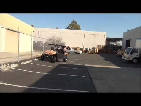 ODES 4 door UTV Side by Side Ripping Donuts!!