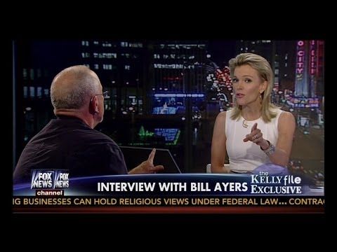 Flaming Hot ➡ Megyn Kelly Takes Down Bill Ayers ➡