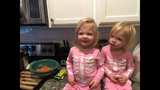 INDIE AND ESME MAKE CHICKEN NOODLE SOUP