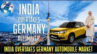 India overtakes Germany to become Largest Automobile market in the World