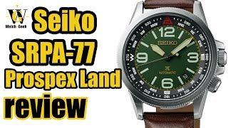 Seiko Prospex Land SRPA77 - In-depth review (HR & EN subtitles)