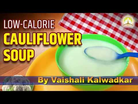 Cauliflower Soup | Low Calorie