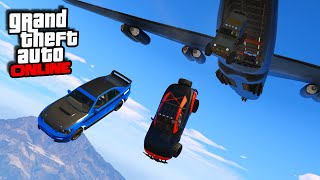 Fast Furious 7 Plane Drop Scene! - GTA V Online
