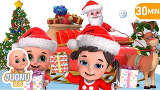 Jingle Bells | Christmas songs for kids | Toy unboxing by Jugnu kids