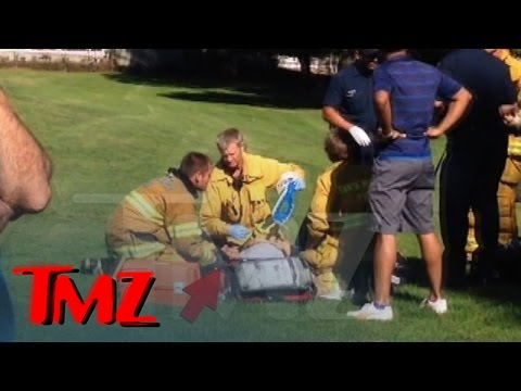 Harrison Ford Plane Crash - Paramedics Treat Harrison
