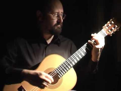 Francisco Tarrega mini-recital - Torres model guitar
